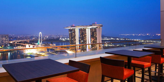bars with a view singapore